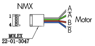 Wiring your own stepper motors with the NMX – Dynamic Perception